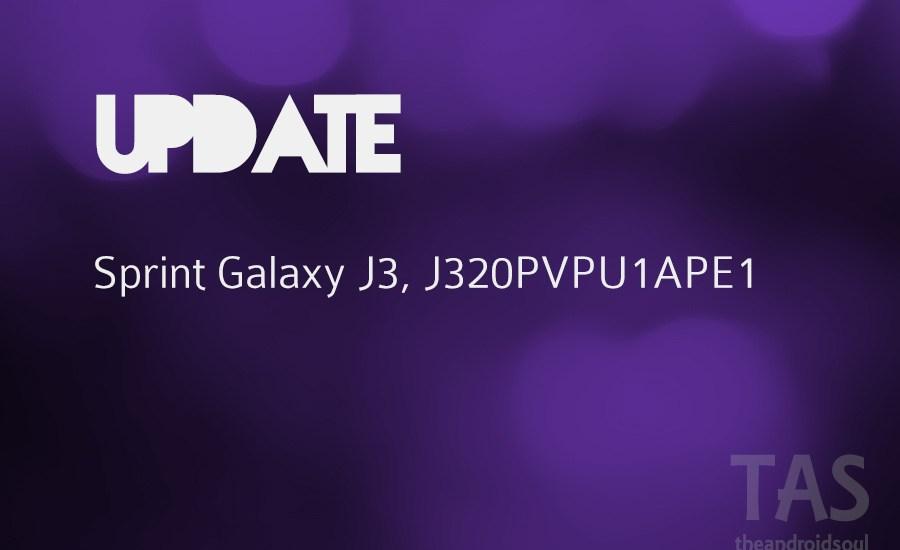 sprint galaxy j3 update