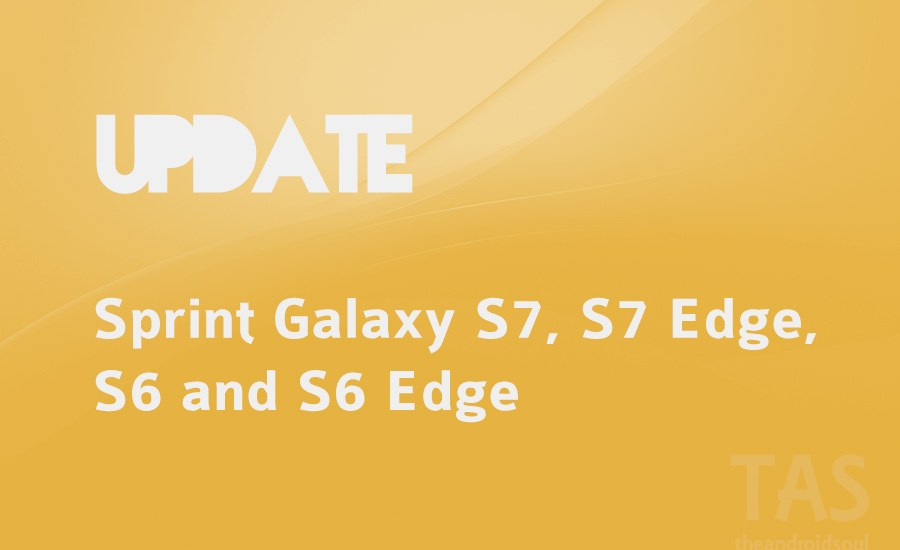 sprint updates for s6 and s7