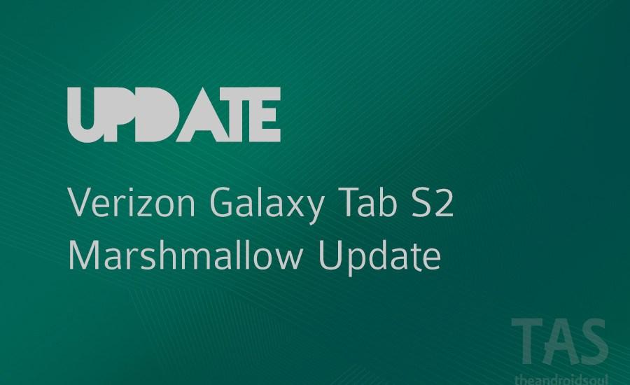verizon tab s2 Marshmallow update pe1