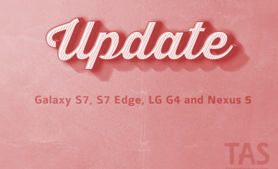 T-Mobile s7 g4 s7 edge update