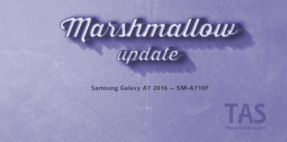galaxy a7 2016 Marshmallow