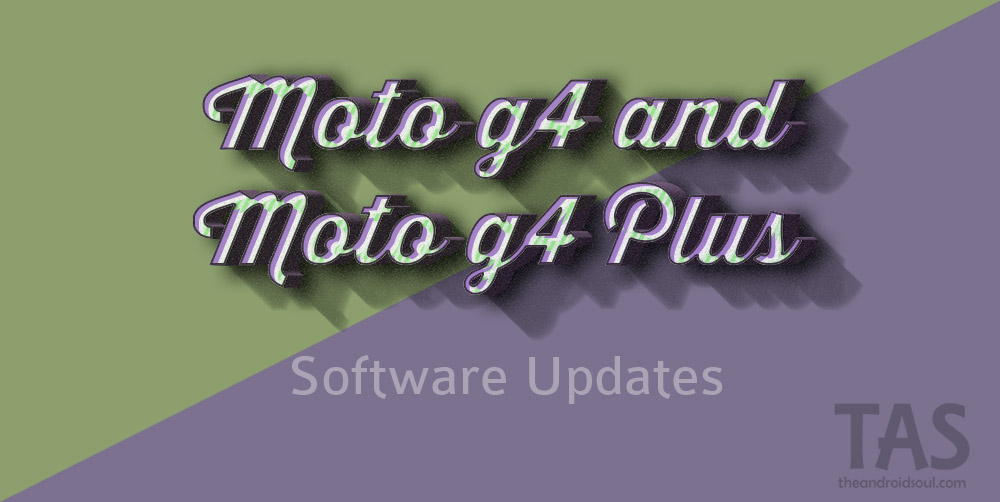 moto g4 plus Nougat update