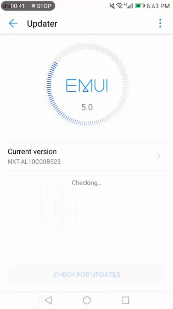 Huawei Mate 8 firmware carrying Android 7.0 Nougat update