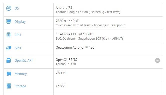 Motorola Nexus 6 running Android 7.1 finally, release