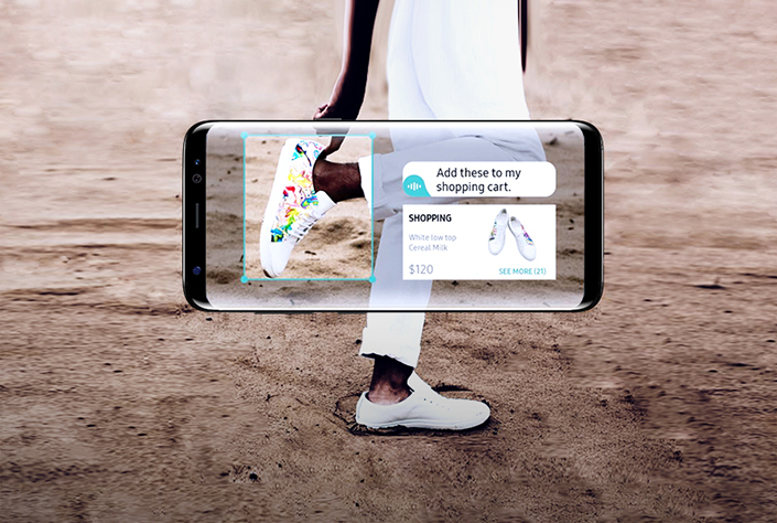 Image result for bixby vision
