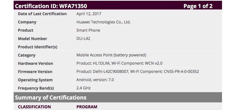 Huawei DLI-L42