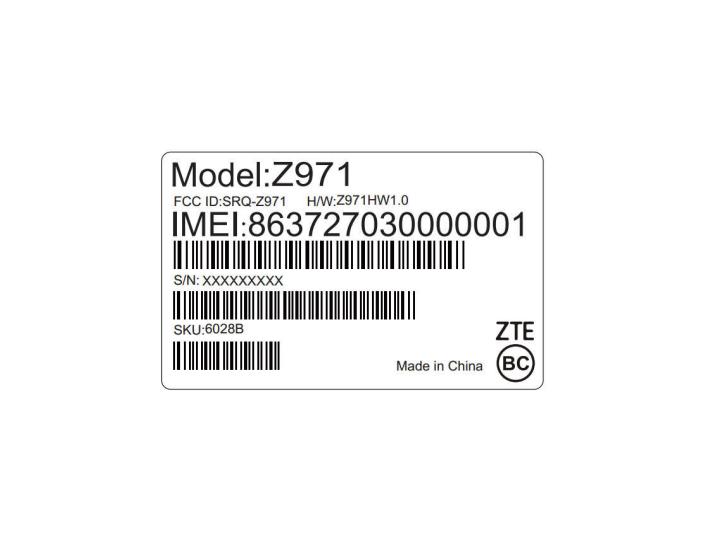ZTE Z971
