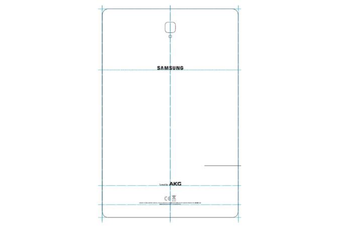 Galaxy Tab S4: Images leak alongside an optional keyboard
