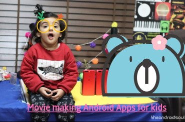 movie making Android apps kids
