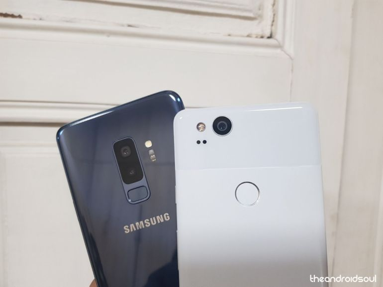 Galaxy S9 and Pixel 2