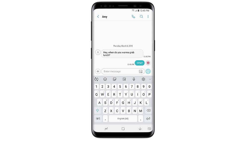 How to fix Galaxy S9 Messaging app bubble colors not