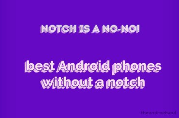 best android phones without notch