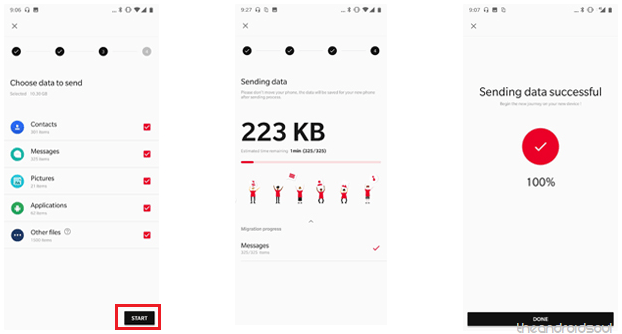 How to transfer apps and data to OnePlus 6 from your old phone