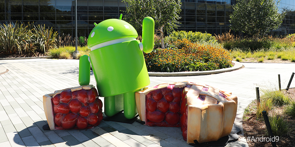 Android Pie Statue