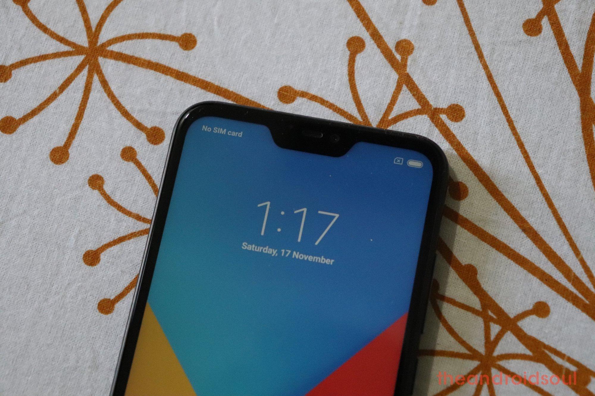 Xiaomi Redmi 6 Pro update