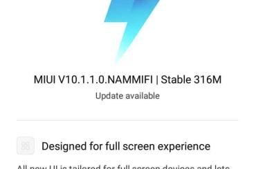 Redmi 4 MIUI 10 update