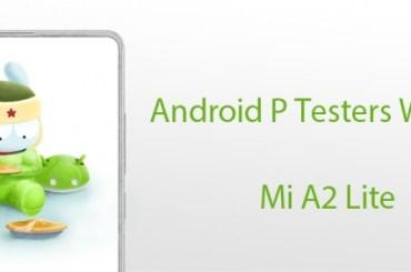 Xiaomi Mi A2 Lite update