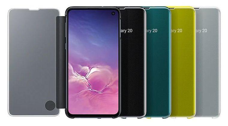 Galaxy S10 flip cover case