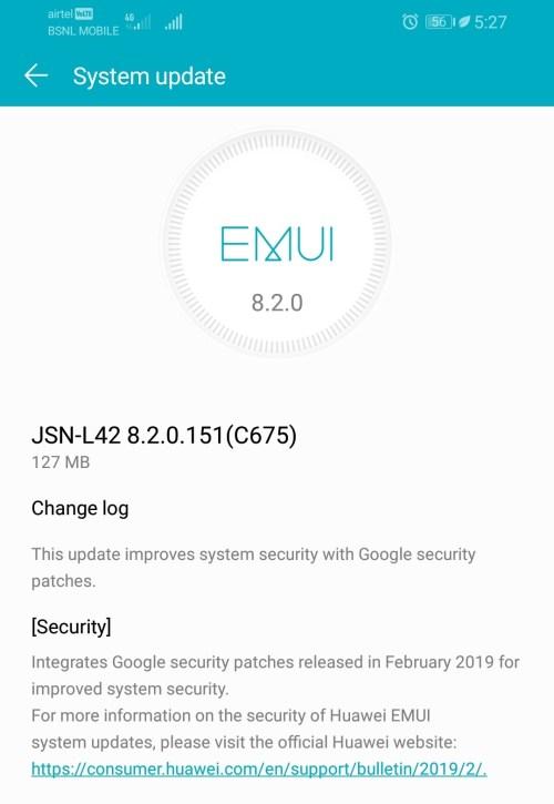 Honor-8X-Feb-2019-update