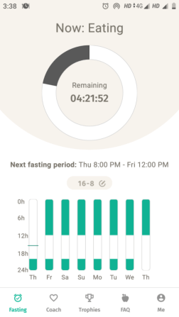 Intermittent fasting apps 24