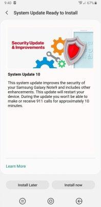 Verizon Note 9 July update 02