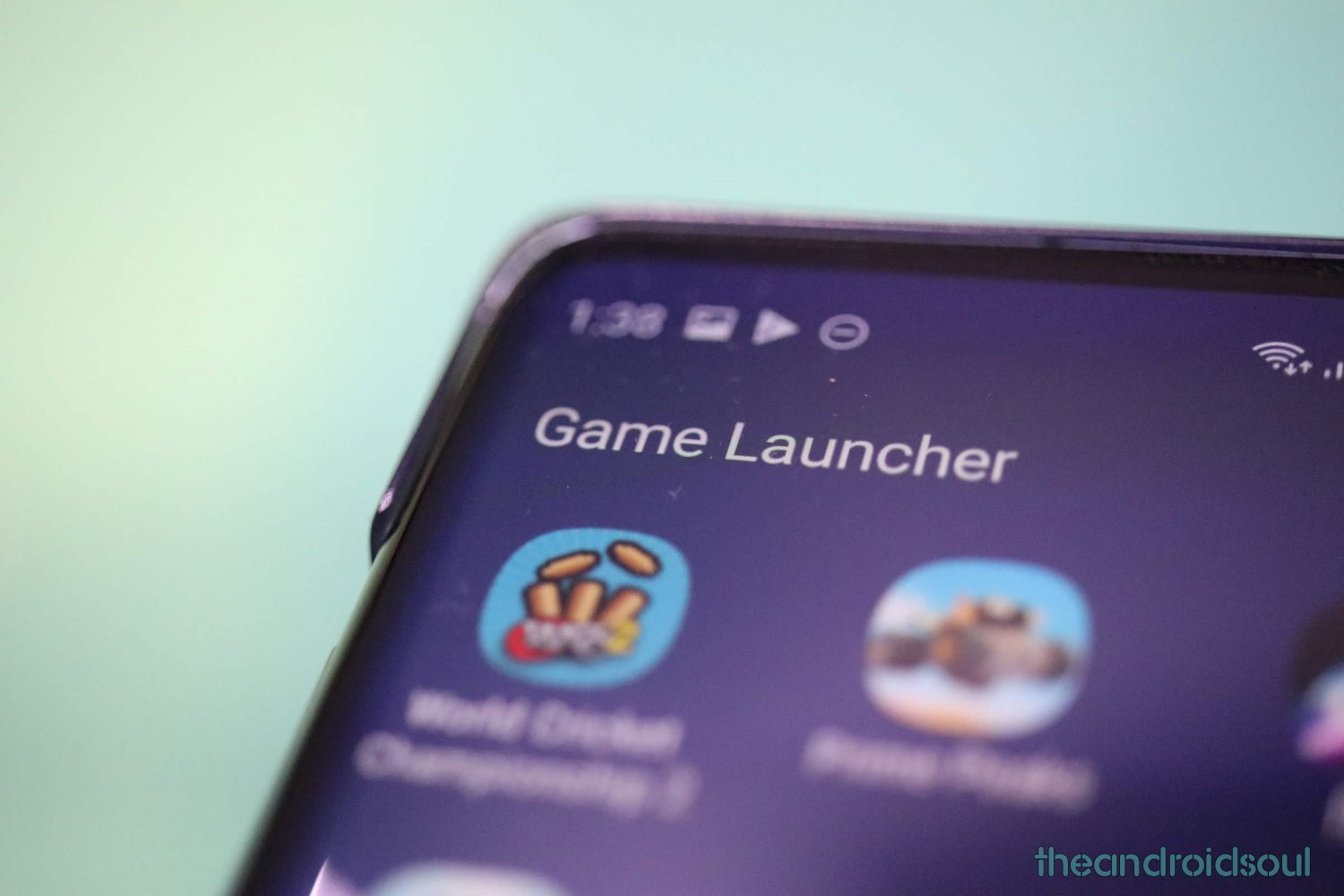 Game Launcher enable disable
