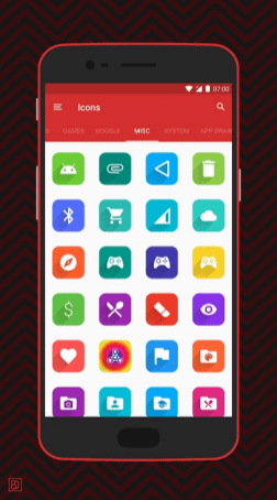 Square icon pack 20