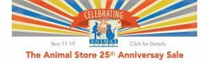 Animal Store Anniversary Sale Popup