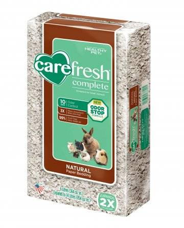 Can Rabbits be litter trained Carefresh bedding