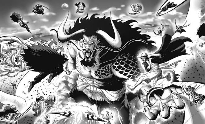 One Piece Chapter 1028