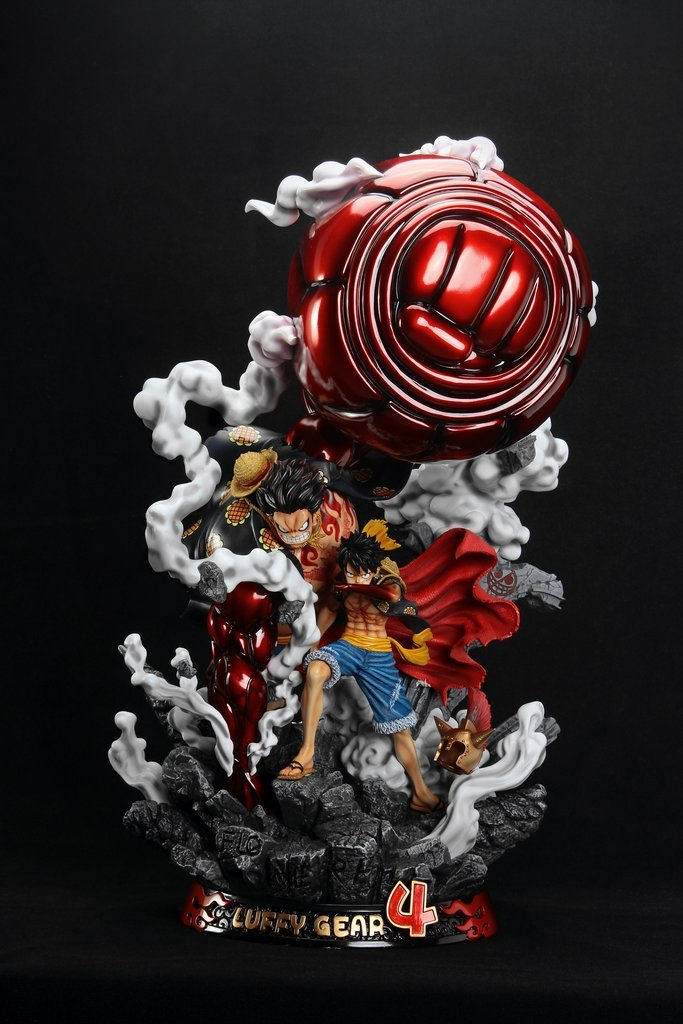 Share on facebook · share on twitter · one piece wallpapers luffy gear second hd. One Piece Monkey D Luffy Gear 4 F3 Studio Resin Statue Minor Damage