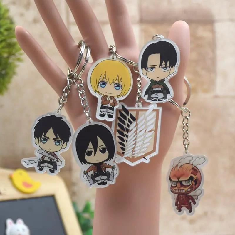 Attack on Titan Keychain Key Chain Acrylic Armin - Animex