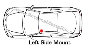 Honda CIVIC Manual AM/FM Antenna 1992-2002 BRAND NEW + How