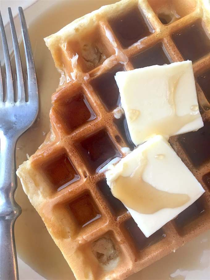 A simple recipe for the perfect homemade waffles.
