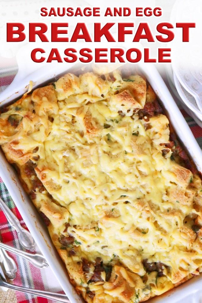 Make-Ahead Sausage and Egg Breakfast Casserole
