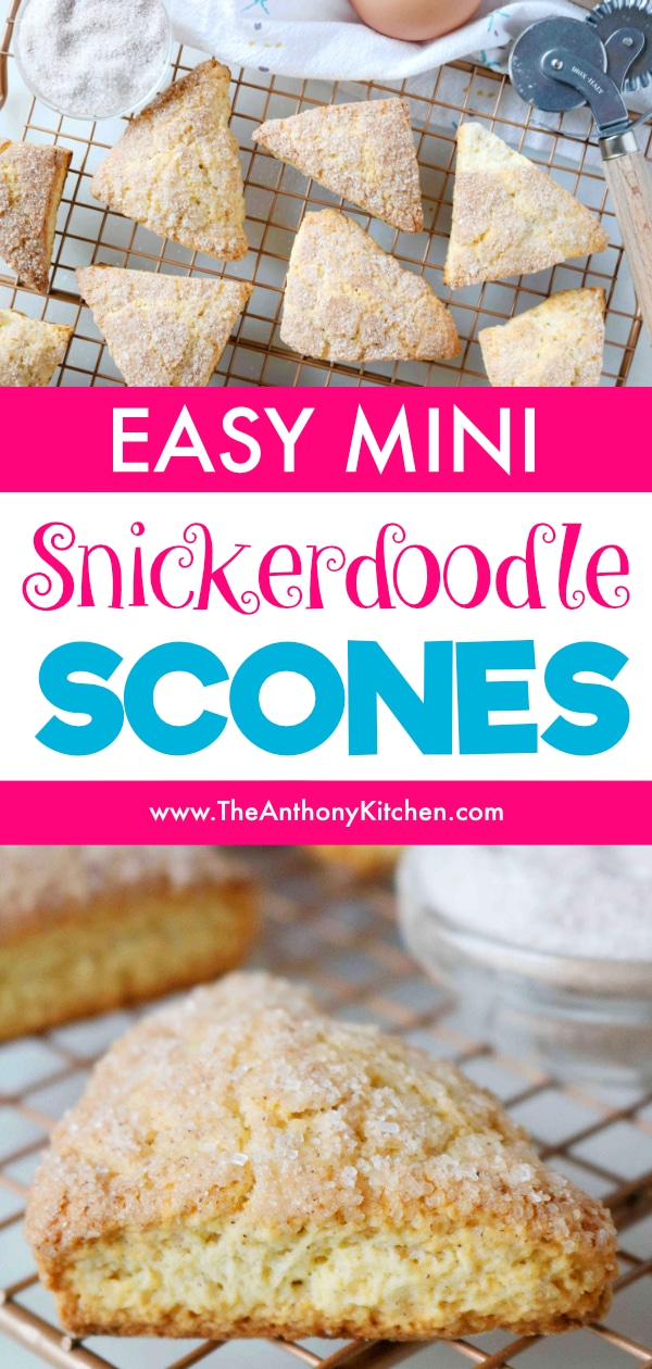 easy cinnamon scones