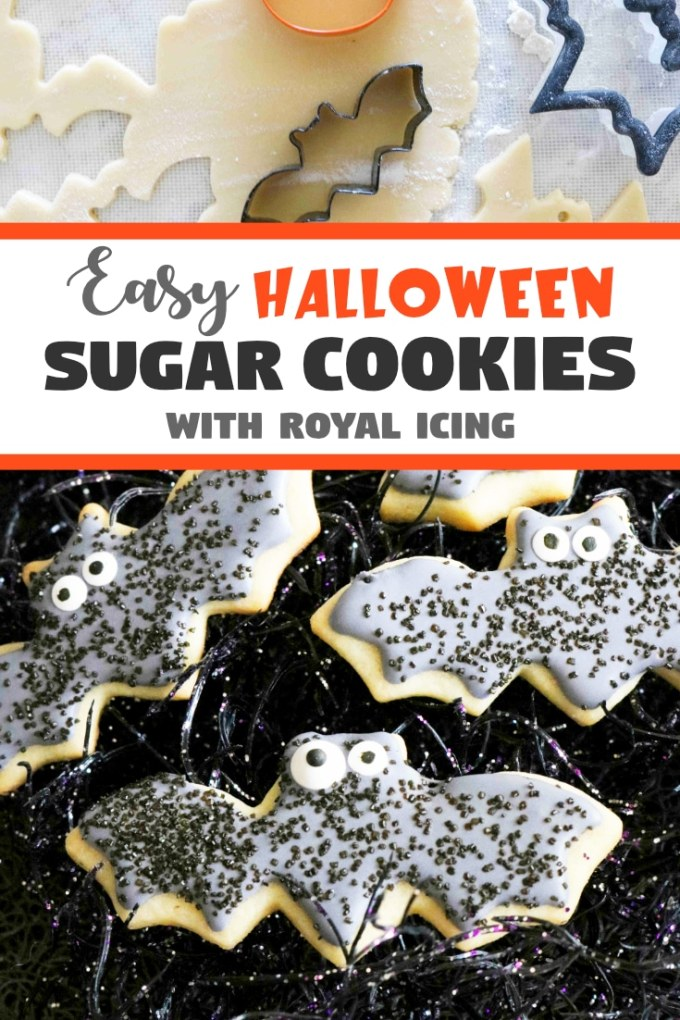 Easy Halloween Cookies with Royal Icing