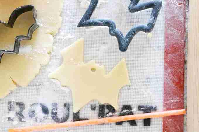 Hanging Halloween Sugar Cookies