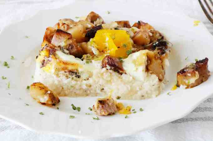 Grits Breakfast Casserole