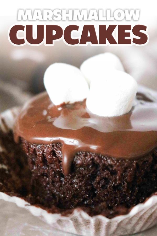 Marshmallow Cupcakes | Hostess Cupcakes