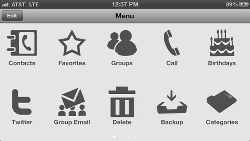 Contacts Management Tool Lite iOS App by The App Guruz
