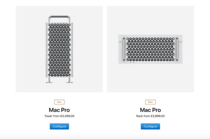 Apple releases rack-mountable Mac Pro, priced from £5,999