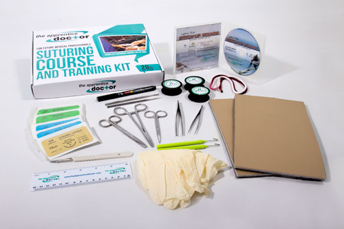 Picture of Suture Kit Contents