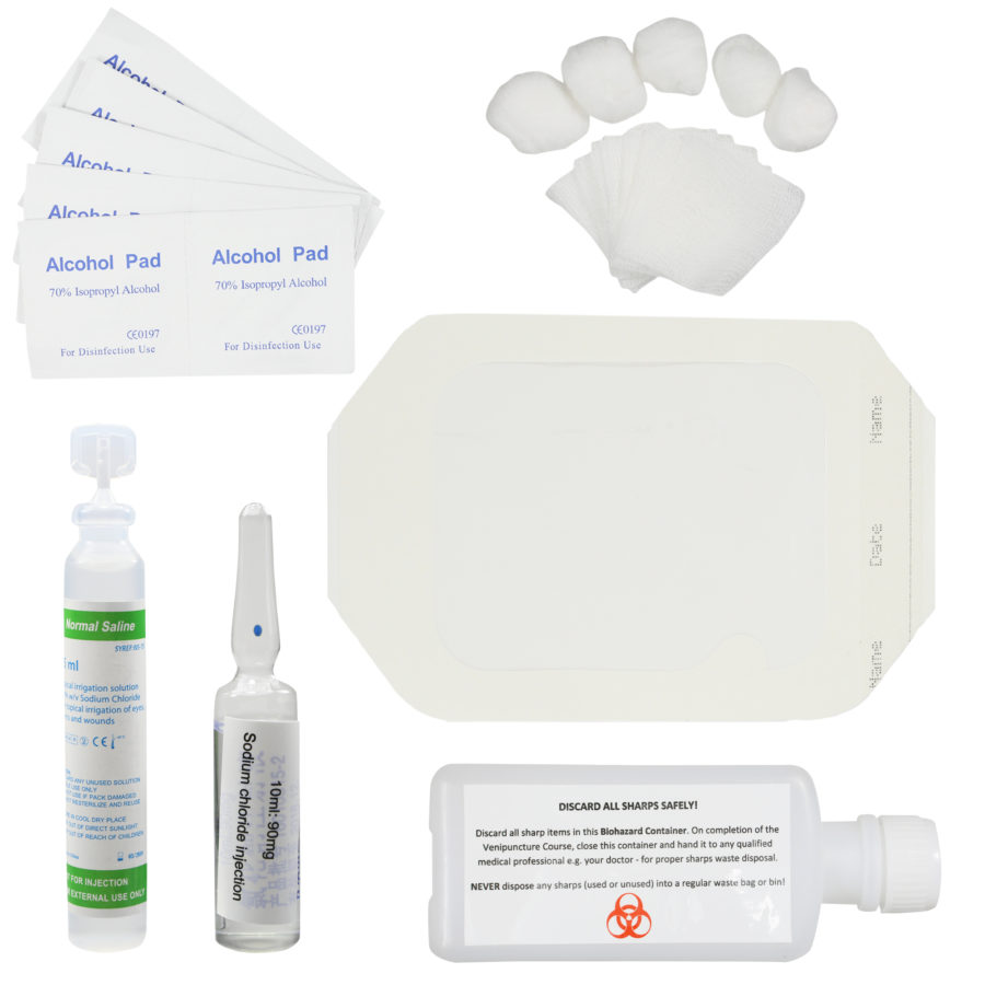 Venipuncture iv training course and phlebotomy practice kit the venipuncture iv training course and phlebotomy practice kit xflitez Image collections