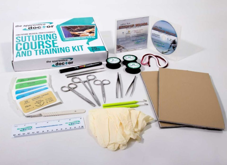 Suture Kit and Course for Medical Students <br/> Practice & Perfect Your Suturing Skills