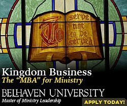 Kingdom Business - The MBA for Ministry - at Belhaven