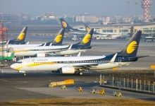 Latest International News : No More Joy of Flying as Jet Airways suspends all flights