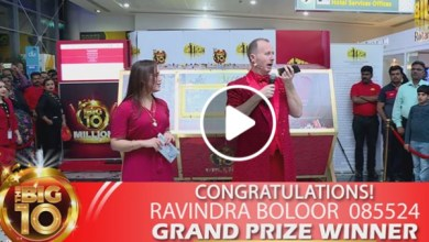 Latest International News : Indian expat wins Dh10 million Big Ticket raffle in Dubai