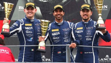 Oman Latest News : Podium start to Blancpain Endurance Season for Oman's Ahmad Al Harthy at rain hit Monza