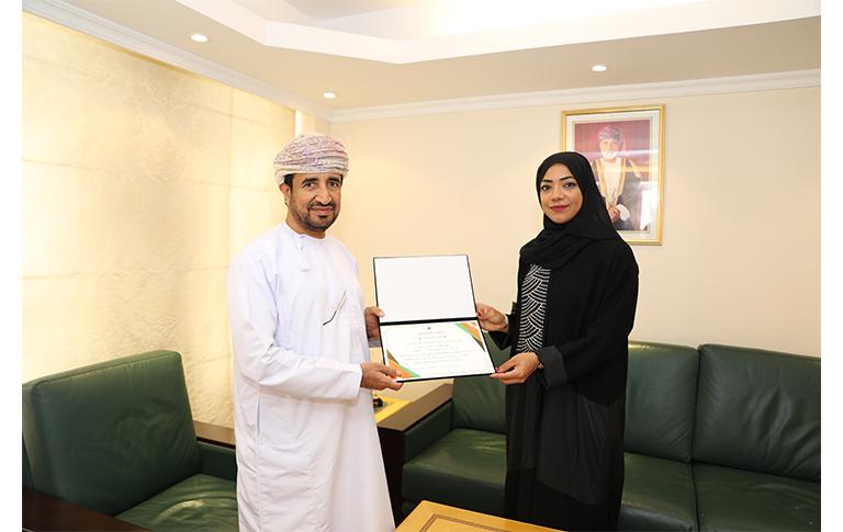 Oman Latest News : Oman's Mount Everest climber Nadhira Al Harthy honoured